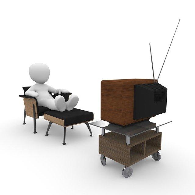 sledování tv pořadu