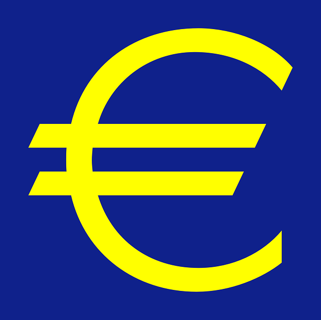 euro symbol, měna