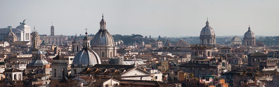 panorama Říma